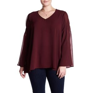 H.I.P. Bell Sleeve Blouse